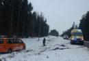 Перевернулся микроавтобус: пострадали пять человек