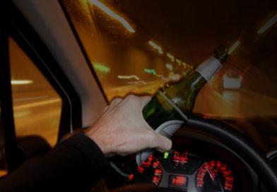 Полиция на выходных поймала 11 пьяных водителей