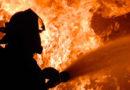 В Лиепае во время тушения пожара пострадал сотрудник ГПСС
