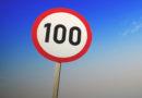 Скорость 100 км/ч будет разрешена на отдельных участках