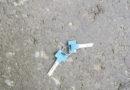 В Лиепае на улице Генерала Баложа найдены ключи