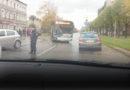 Очевидец: на улице Бривибас авария