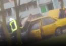 На улице Даугавас горел автомобиль (видео)