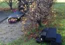 В саду Собора Святого Язепа возможно орудовали вандалы