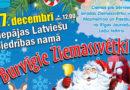 27. decembrī Latviešu Biedrības namā – Burvīgie Ziemassvētki!