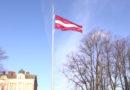 В Латвии будет сшит самый большой государственный флаг в мире