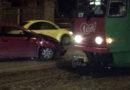ДТП на улице Клайпедас: снова не видят трамвай