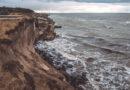 Вдоль Северных фортов обвалы сооружений и почвы (видео)