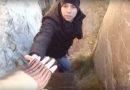 Семья Черновых сняла видео о том, как разрушается берег моря