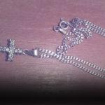 В Лиепайском Олимпийском центре найден крестик