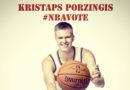 Матч всех звезд: нью-йоркский Knicks призывает латвийцев голосовать за Порзиньгиса