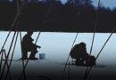 Перконский канал. Первые рыбаки на льду