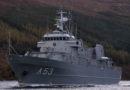 В Лиепае встретят корабль Морских сил «Virsaitis»