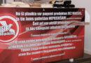 В Лиепае установлена первая «Полка добра»