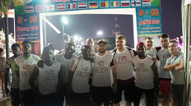 Скандал в Таиланде: Латвийские футболисты против расизма!