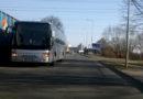 Лиепая: автобус выезжает на «встречку» (видео)