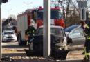 На перекрестке улиц Ганибу и Кемпес авария (фото)