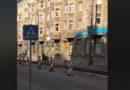Лиепая: по центру города бегает лось