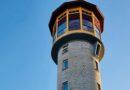 Туристический объект в Айзпуте: старая водонапорная башня