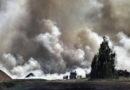 Под Талси выгорело уже 715 гектаров, прогнозы неутешительны