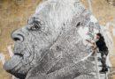 Лиепая: на Северных фортах появился портрет старушки