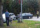 ДТП на перекрестке в Военном городке: никто не пострадал