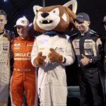 Церемония открытия фестиваля скорости в Лиепае (видео)