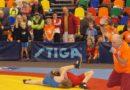 В Лиепае прошел открытый чемпионат по борьбе (фото)
