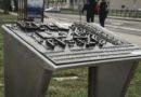 В Лиепае установлены тактильные информационные карты