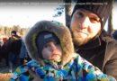 Большая семья Черновых побывала на Крещенских купаниях
