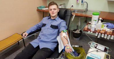 Лиепайчане жертвуют кровь в Лиепайской региональной больнице