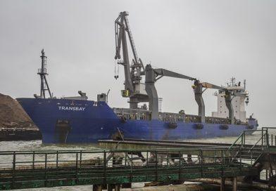 Оборот в Лиепайском порту за 9 месяцев немного упал, но в сентябре наблюдался рост
