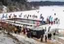 В Беберлини прошел чемпионат по зимнему плаванию