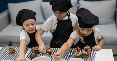 Лиепайчанка открыла детскую школу кулинарии