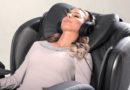 Красный крест предлагает услугу – сеанс массажа в массажном кресле