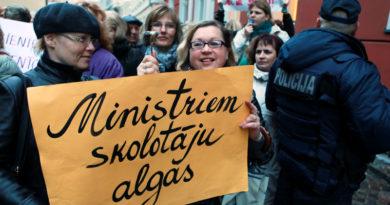 Учителя снова думают об акциях протеста