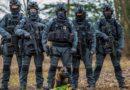 Латвийские полицейские поздравили женщин с 8 марта