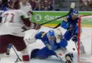 Гол сборной Латвии по хоккею признан лучшим