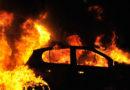 В Лиепае за ночь подожгли две машины: полиция ищет свидетелей