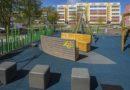 На улице Эдуарда Тиссе открыли новую детскую площадку