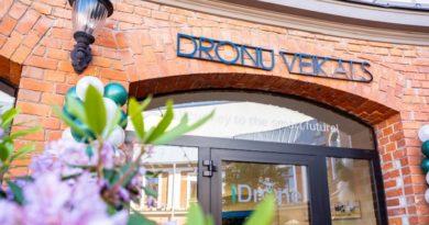 В Лиепае открылся специализированный магазин дронов