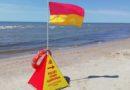 На Лиепайском пляже новые информационные знаки (см.значение)