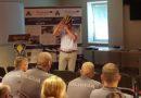 Лиепая: полицейские учатся велопатрулированию