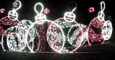 Украшение города к Новогодним праздникам (видео)