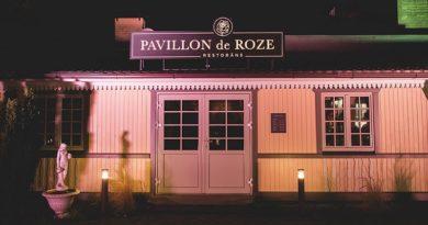 В Лиепае открыт новый ресторан PAVILLON de ROZE