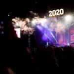 Лиепая встретила 2020 год (видео)
