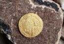 В домике Петра найдена ценная золотая монета