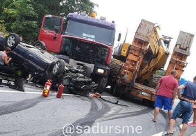 На шоссе Рига – Лиепая произошла тяжелая авария