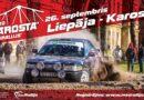 В субботу в Лиепае пройдет один из этапов мини-ралли «Karosta 2020» (+ карта ограничений)