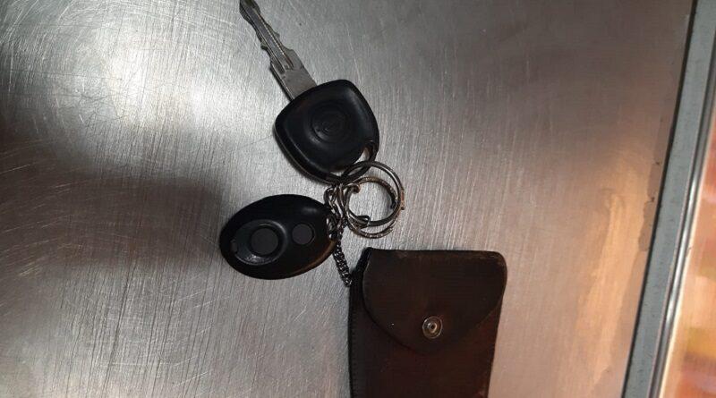"""В магазине """"Aibe"""" на улице Роню покупатель забыл ключи от авто!"""